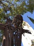 Passe a escultura de Jesus Christ que pendura na cruz - ` s de St Patrick - Miami Beach Imagens de Stock Royalty Free