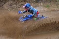 Passe par la boue Photo libre de droits