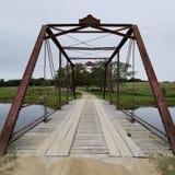 Passe a ponte foto de stock