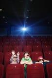 Passe-temps au cinéma Photographie stock