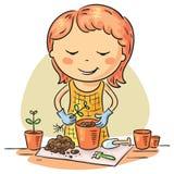 Passe-temps de jardinage Image libre de droits