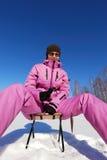 Passe-temps de l'hiver image libre de droits