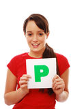 Passed driving test Royalty Free Stock Photos