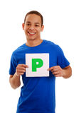 Passed driving test Stock Image