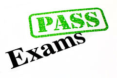 Passed Your Exams Royalty Free Stock Photography