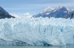 Passeggeri della nave da crociera nel parco nazionale della baia di ghiacciaio fotografie stock