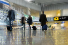 Passeggeri di linea aerea Fotografie Stock