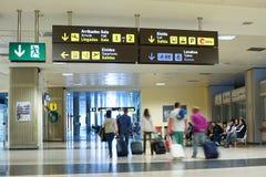 Passeggeri di linea aerea Immagini Stock Libere da Diritti
