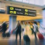 Passeggeri di linea aerea immagine stock