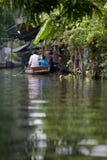 Passeggero sul servizio di galleggiamento Immagini Stock Libere da Diritti
