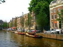 Passeggiata a Amsterdam Immagini Stock Libere da Diritti