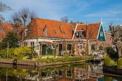 Passeggiata attraverso edam, Olanda immagini stock libere da diritti