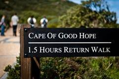 Passeggiata del Capo di Buona Speranza fotografie stock