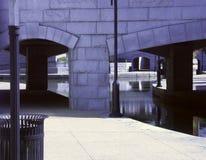 Passeggiata del fiume Fotografia Stock