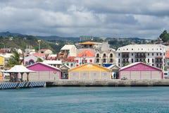 Passeggiata del Fort de France - la Martinica Immagine Stock Libera da Diritti