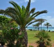 Passeggiata del mare di Almeria Fotografie Stock Libere da Diritti