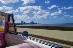 Passeggiata della spiaggia, Avana fotografia stock libera da diritti