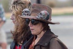 Passeggiata 2016 dello zombie del New Jersey Fotografia Stock Libera da Diritti
