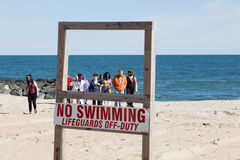 Passeggiata 2015 dello zombie del parco di Asbury Immagine Stock Libera da Diritti