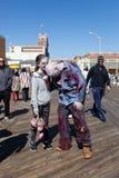Passeggiata 2015 dello zombie del parco di Asbury Fotografia Stock