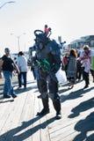 Passeggiata 2015 dello zombie del parco di Asbury Fotografie Stock
