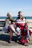 Passeggiata 2015 dello zombie del parco di Asbury Fotografia Stock Libera da Diritti
