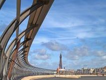 Passeggiata di Blackpool Fotografia Stock Libera da Diritti