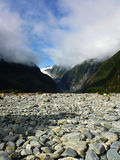Passeggiata di Franz Josef Valley al ghiacciaio Fotografia Stock