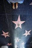 Passeggiata di Hollywood Fotografie Stock