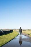 Passeggiata di inverno Fotografia Stock Libera da Diritti