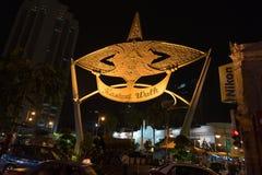 Passeggiata di Kasturi in Kuala Lumpur Fotografia Stock Libera da Diritti