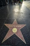 Passeggiata di Los Angeles Hollywood di fama fotografia stock libera da diritti