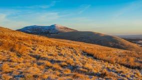 Passeggiata di primo mattino nel Pentlands Fotografie Stock