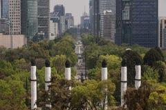 Passeggiata di Reforma Fotografia Stock Libera da Diritti