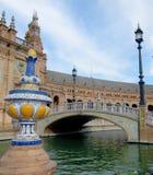 Passeggiata di Siviglia nella vecchia città di Siviglia Spagna fotografia stock