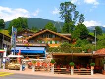 Passeggiata in Grindelwald Fotografia Stock