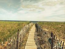 Passeggiata lunga alla spiaggia Immagine Stock Libera da Diritti
