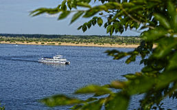 Passeggiata lungo il Volga Fotografia Stock Libera da Diritti