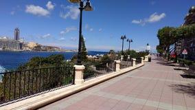 Passeggiata Malta fotografie stock