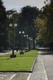 Passeggiata nel parco di Maribor Immagine Stock
