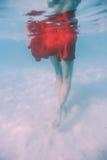 Passeggiata nell'oceano Fotografie Stock Libere da Diritti