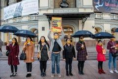 Passeggiata per l'evento internazionale annuale di libertà Fotografie Stock