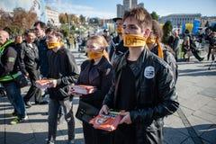 Passeggiata per l'evento internazionale annuale di libertà Immagini Stock Libere da Diritti