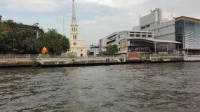 Passeggiata sul fiume a Bangkok Fotografia Stock Libera da Diritti
