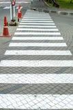 Passeggiata trasversale bianca Fotografie Stock Libere da Diritti