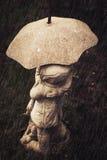 Passeggiata un giorno piovoso Fotografie Stock Libere da Diritti
