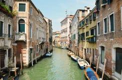Passeggiata a Venezia Immagini Stock