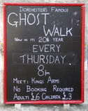 Passeggiate del fantasma di Dorchester Fotografia Stock