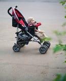 passeggiatore di bambino Fotografia Stock