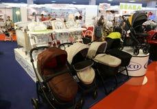 Passeggiatori per i neonati Immagini Stock Libere da Diritti